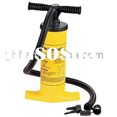 high-volume double action hand pump
