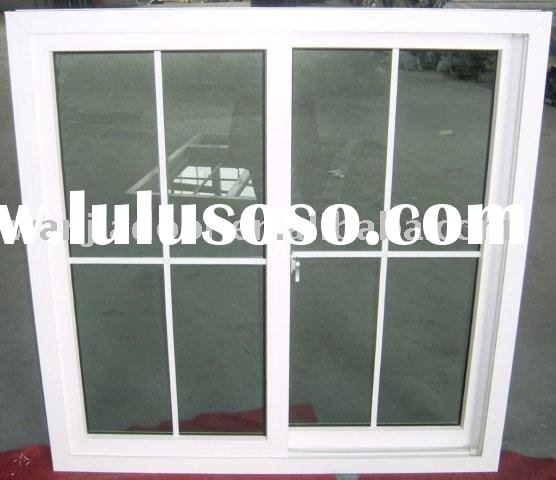 2011 New design upvc design window grills