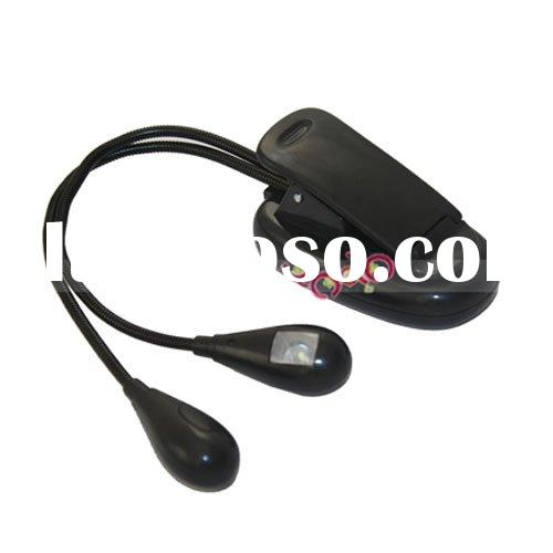 2 Dual Arm LED Music Stand Light Lamp