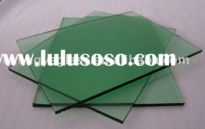 8mm green float glass