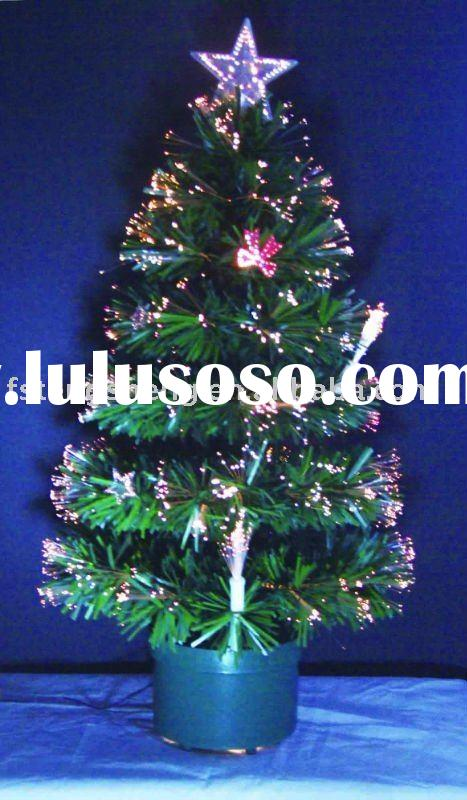 Artificial Fiber Optic Christmas Tree Light for Promotional Gift