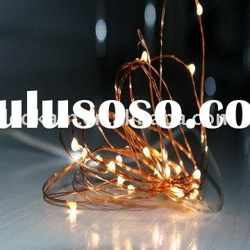 Battery operated led string light,christmas lights