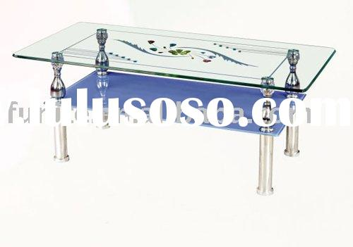 Cheap Tempered Glass Center Table for sale