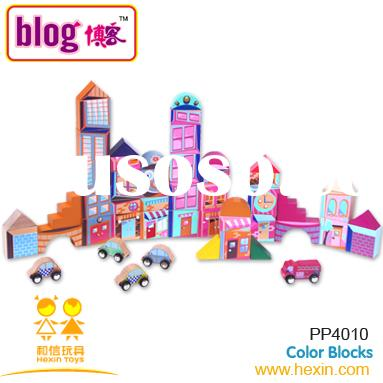 Color blocks (wooden block,wooden educational toy,wooden building block )