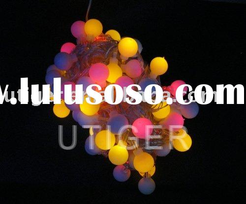 Color changing LED Chrisrtmas Decoration Light string For Christmas and Halloween Free shipping