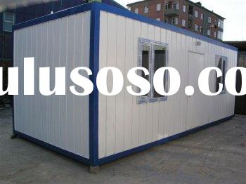 Container home building