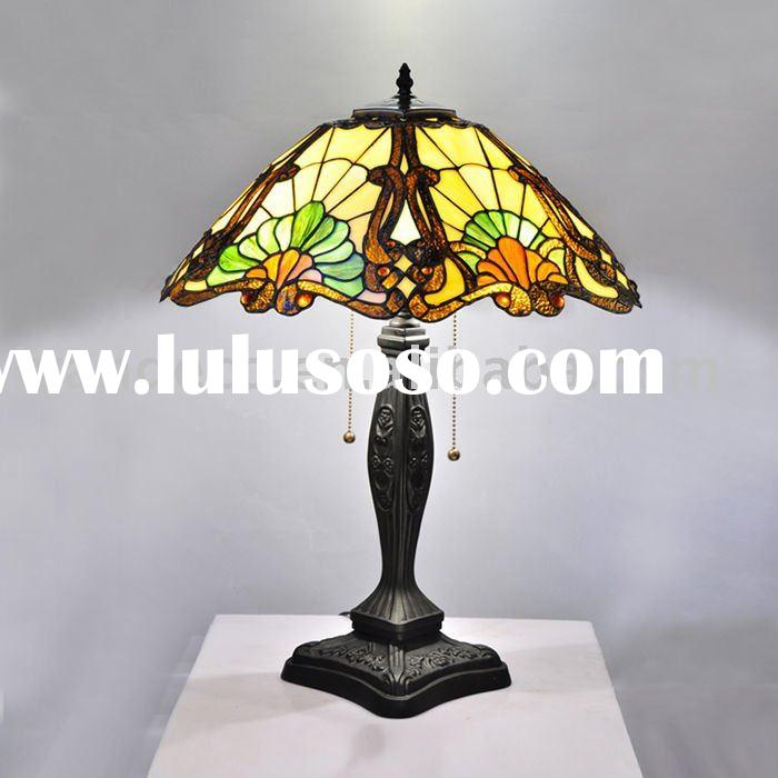 Decorative Glass Shade Tiffany Table Lamp