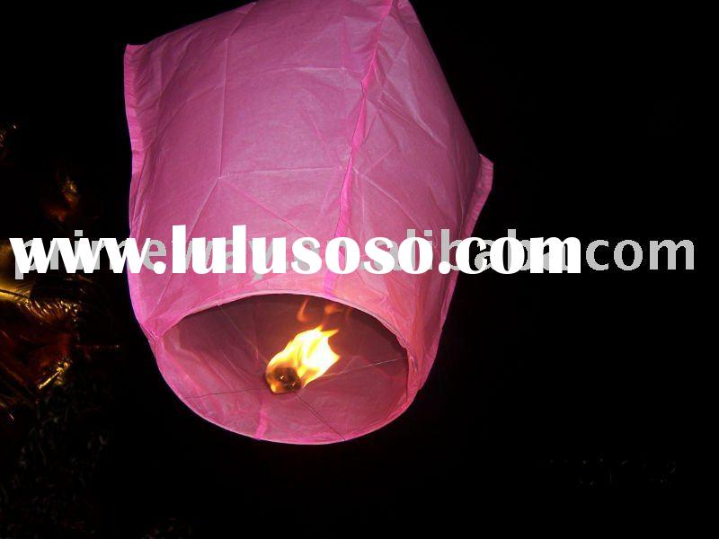 Event & party supplies /paper sky lantern/kongming lantern/wishing lantern