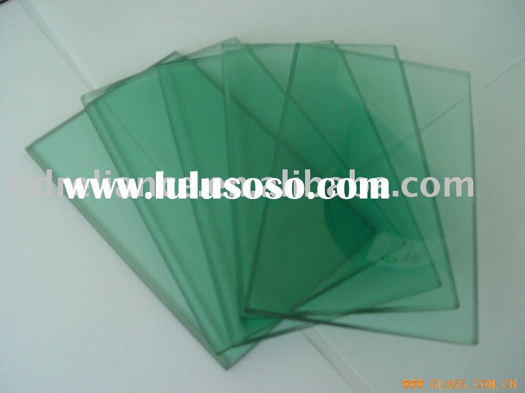 F-Green Float Glass / 12mm f green float glass