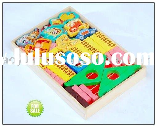 Farm Wooden Building blocks