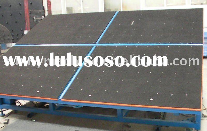 Glass Tilt table / FGT Manual Laminated Glass Cutting table