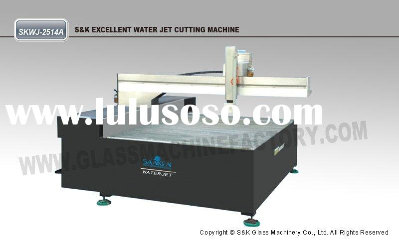 HIGH EFFICIENCY DOUBLE CUTTING HEADS MACHINE (Glass Waterjet Cutting Machine, Water Jet, Water Cutti