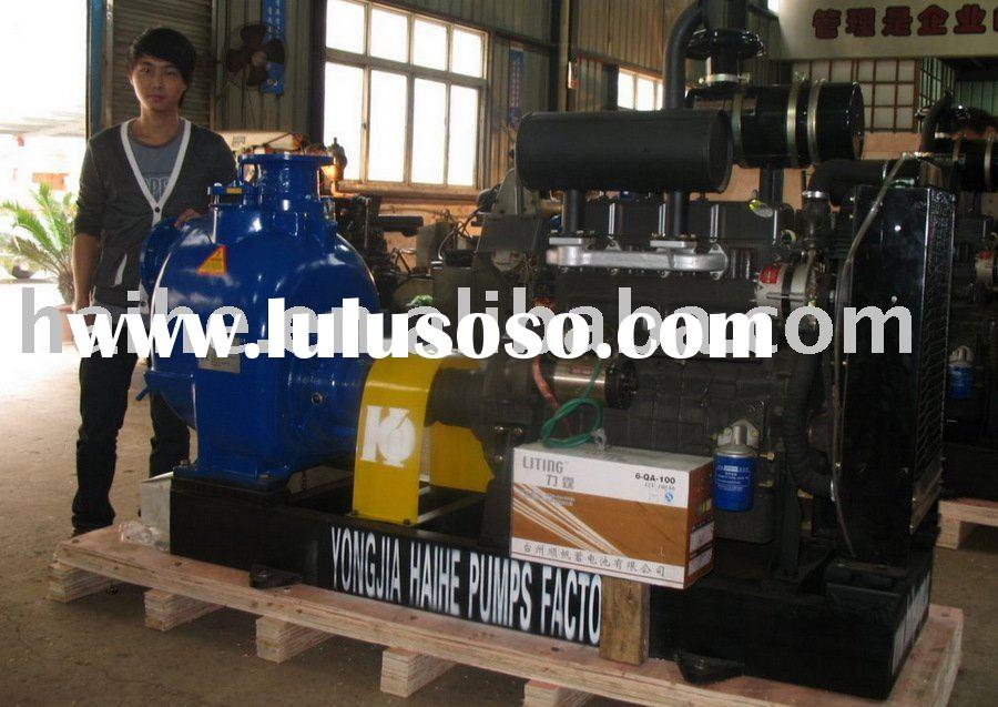 Horizontal Self Priming Centrifugal Pump(T Series Trash Pump)