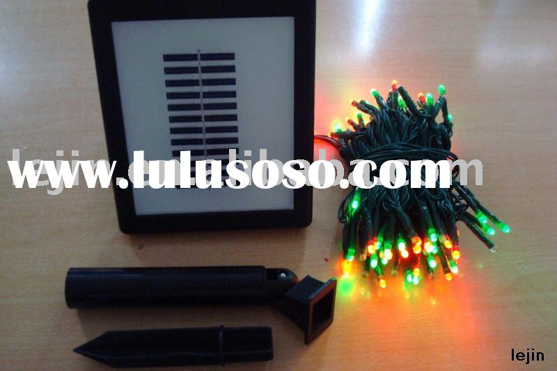 LED Solar string lights/Garden light/outdoor light/Christmas light/decoration light