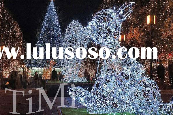 LED lights Waterproof White 200LED String Christmas Lights+ UK Plug