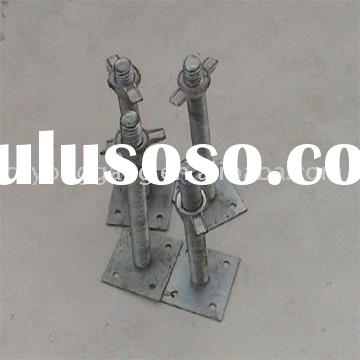 Leading screw, scaffolding system part, construction scaffold part, aluminum scaffolding, scaffold p