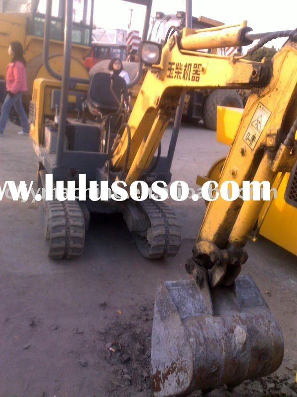 Used Yuchai YC13-6 mini and hydraulic excavator( excavators, digger ,construction equipment ) for sa