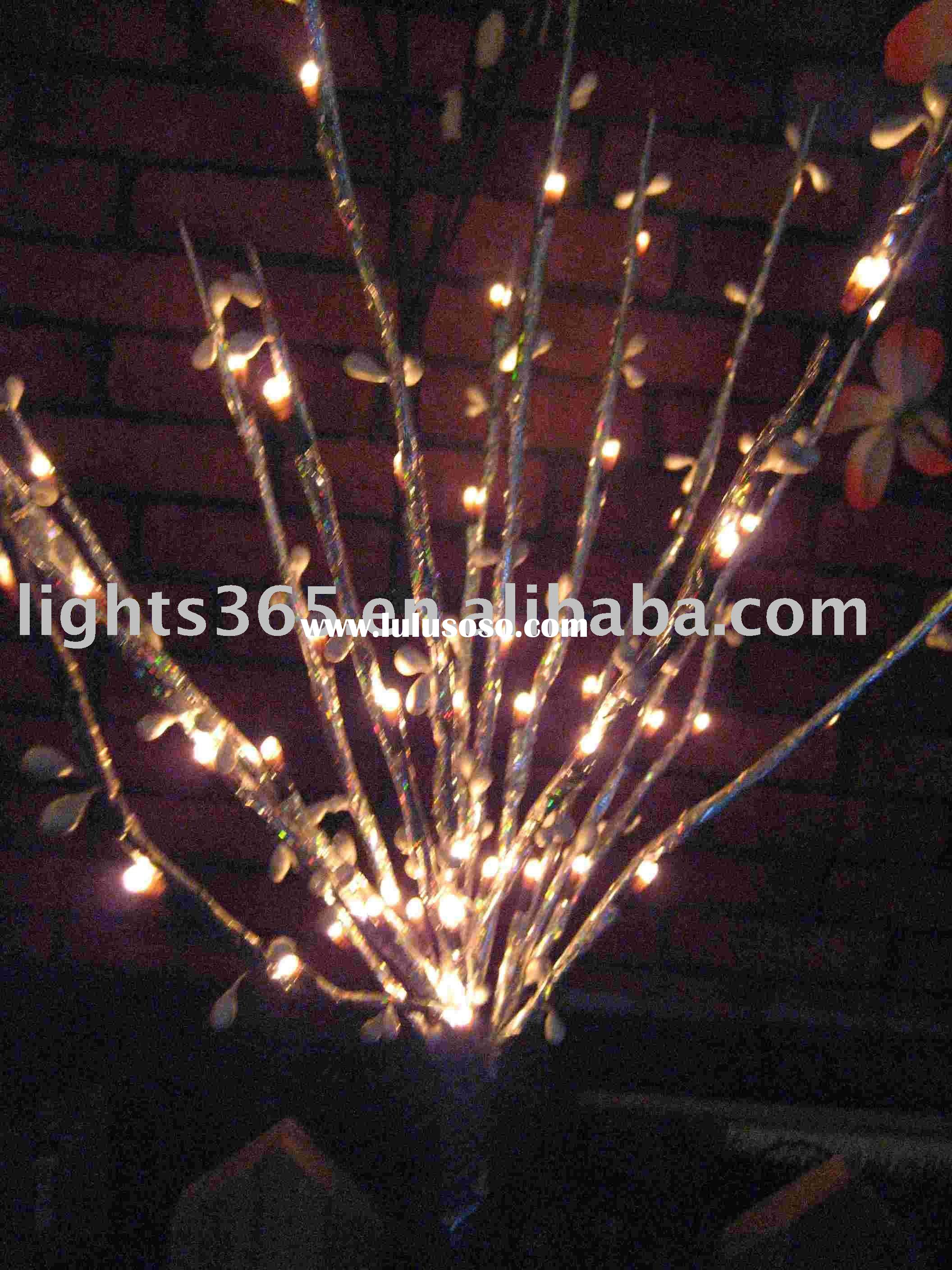 battery operated LED branch lights