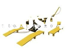 car lifting equipment, hydraulic car hoist,car bench
