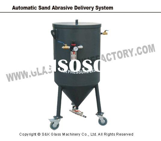 glass machine-Automatic Sand Abrasive Delivery System(Glass Waterjet Cutting Machine, Water Jet, Wat