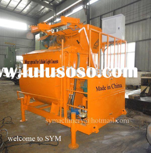 lightweight foam concrete block making machine