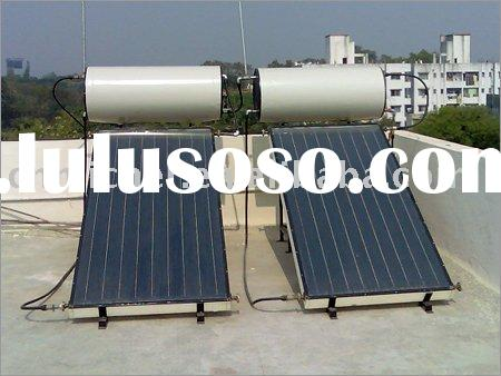 micher flat plate solar water heater system