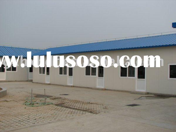 prefabricated house(prefab building,steel structure house)