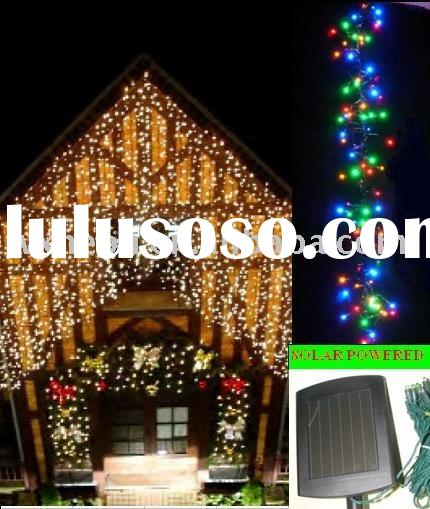 solar christmas led string light/outdoor decoration light