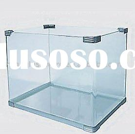 Glass fish aquarium tank glass fish aquarium tank for Square fish tank