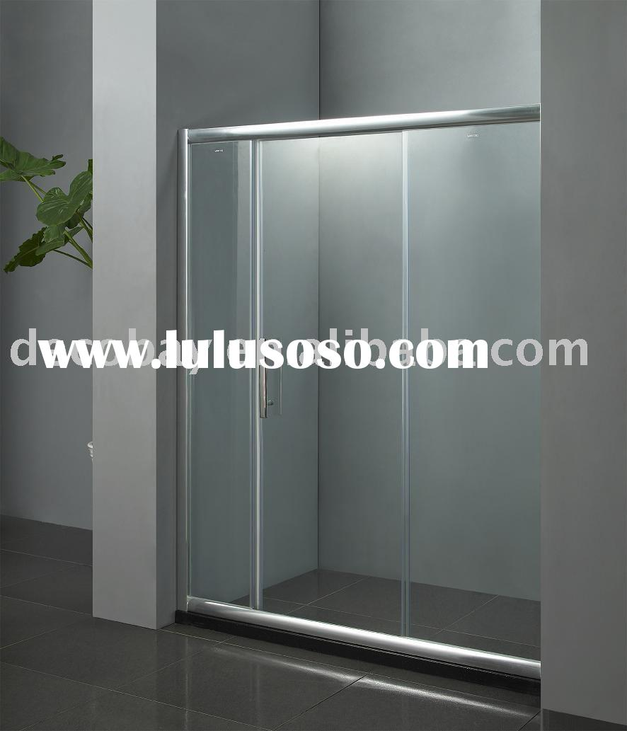 bathroom tempered glass door, bathroom tempered glass door