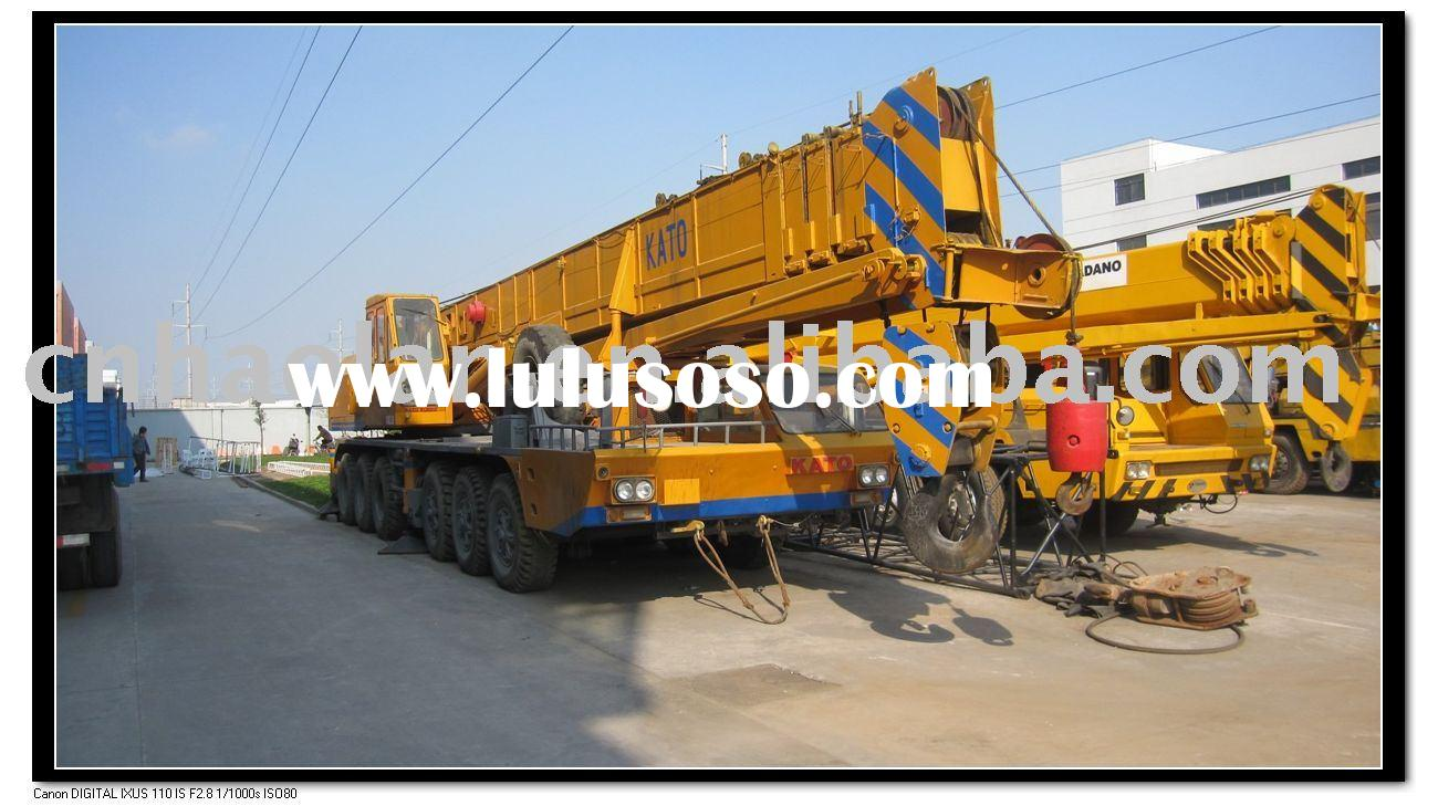 used construction equipment 80TON for sale(used truck crane 80t hydraulic mobile crane)