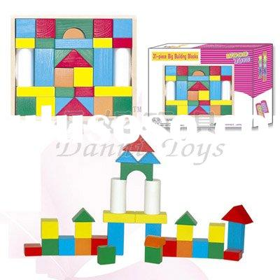 wooden building blocks toys