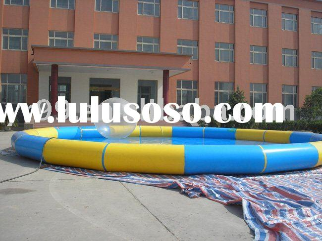 Amusement inflatable water park equipment inflatable swimming pool