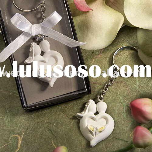 Bride & Groom Design Favor Saver KeyChain wedding Favors