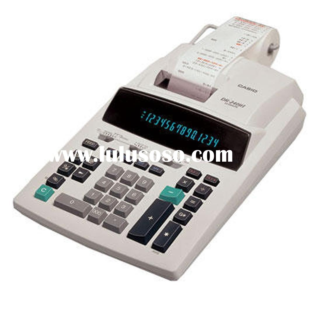 Casio DR 240TM Printing Calculator