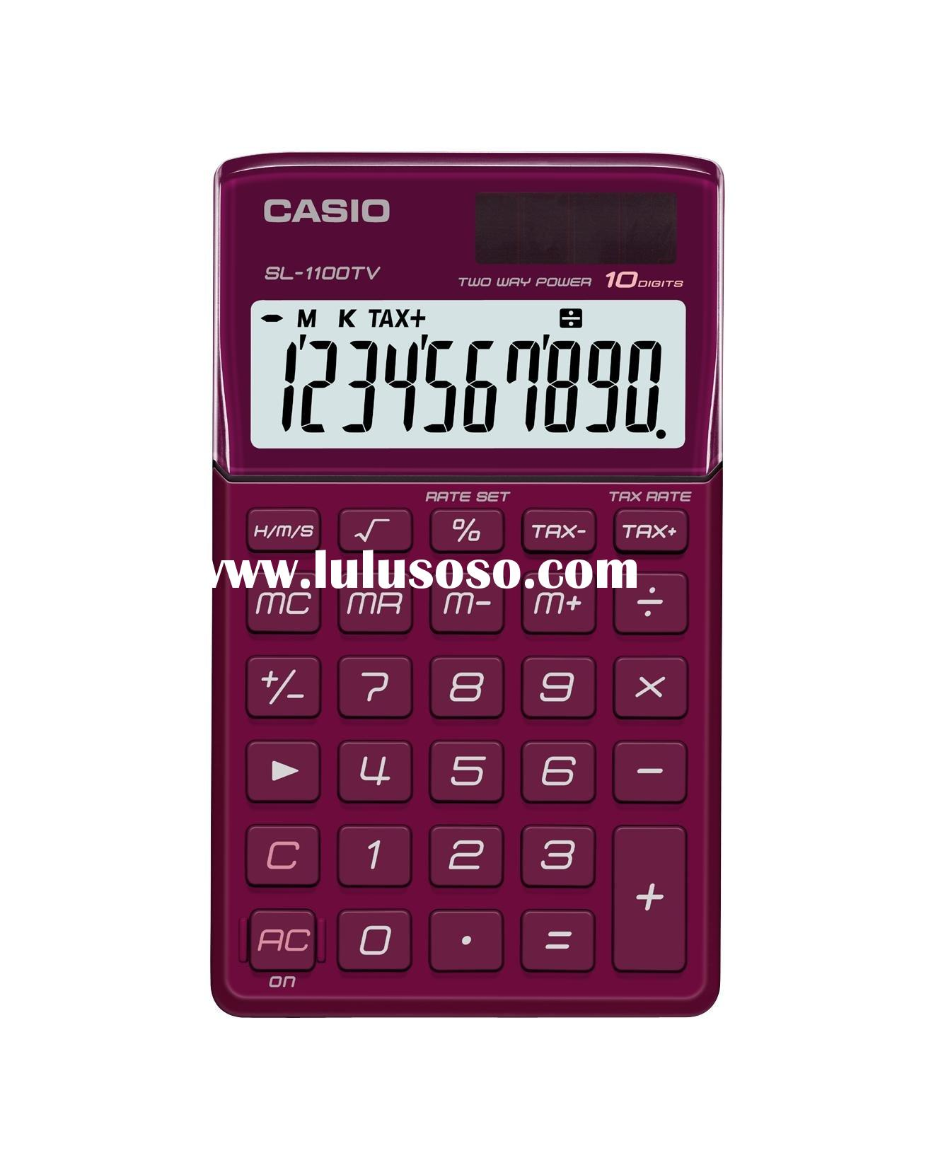 Casio SL 1100TV Desktop Calculator