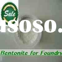 Casting sodium bentonite is the best selling bentonite for foundry.