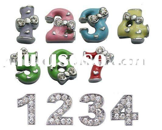 Fashion diy letters for keychain,diy alphabet,letters charm