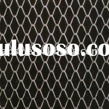 Galvanized Chain link type wire fence fabrics