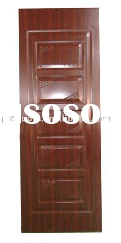 Galvanized steel doors commercial  steel wooden door  steel exterior doors