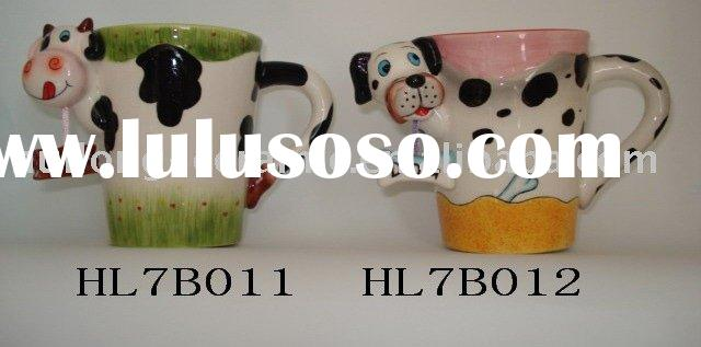 Mugs(ceramic plate,ceramic valentine dish,home decoration)