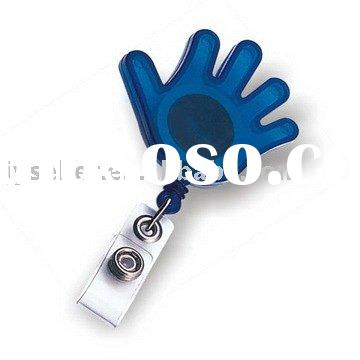 Retractable Badge Holder With Belt Clip