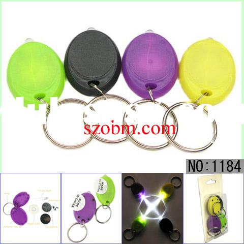 Ultra Bright Plastic Key chain LED Light V1