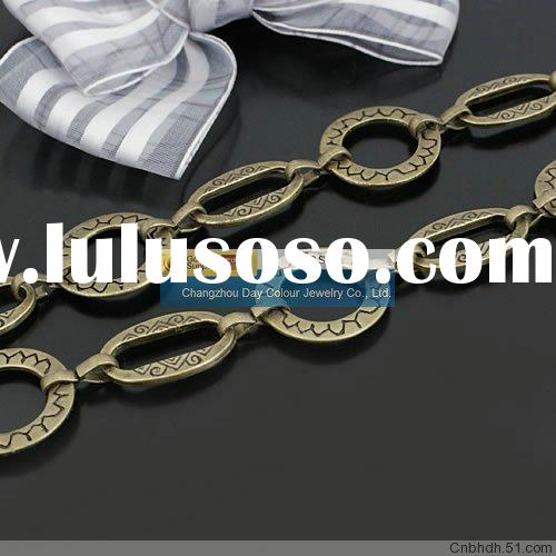Wholesale 21 mm Jewelry Chain Necklace Chain Copper Chain Brass Chain