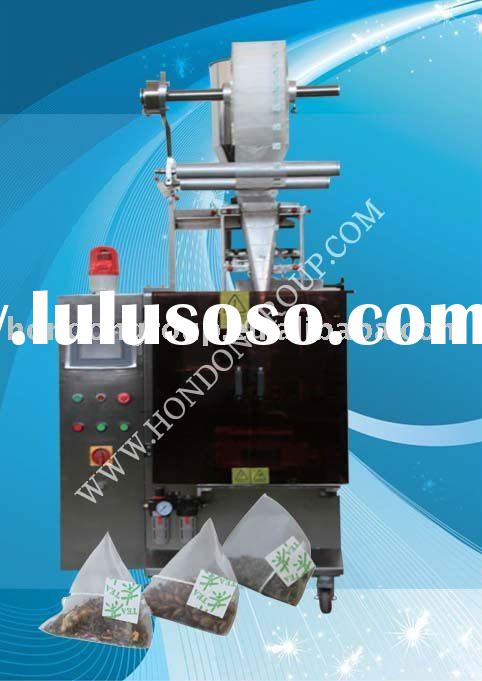 automatic nylon triangle tea bag packing machine