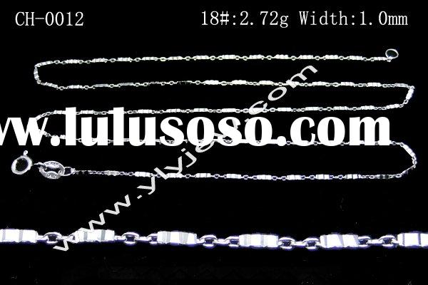 brass chain/decorative chain/925 silver snail chain/silver anchor chain/925 silver bead chain
