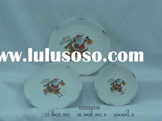 decoration ceramic dish plate