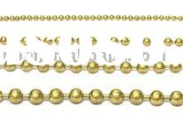 decorative brass ball chain