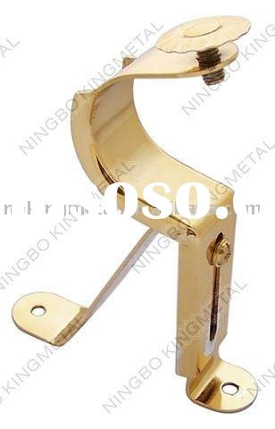decorative metal single curtain bracket