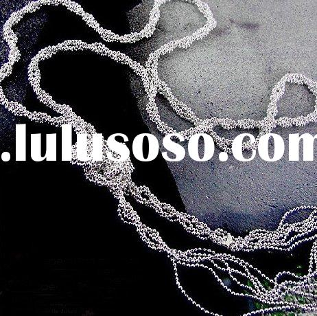 fashion brass chains, silver chain necklace, costume jewelry